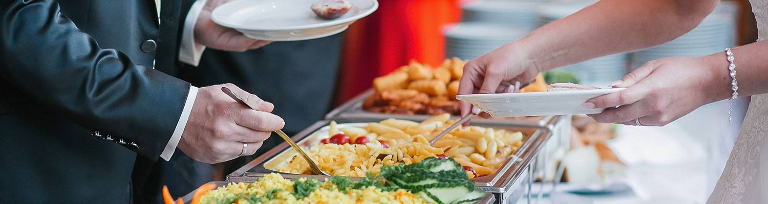 buffet food for banquets