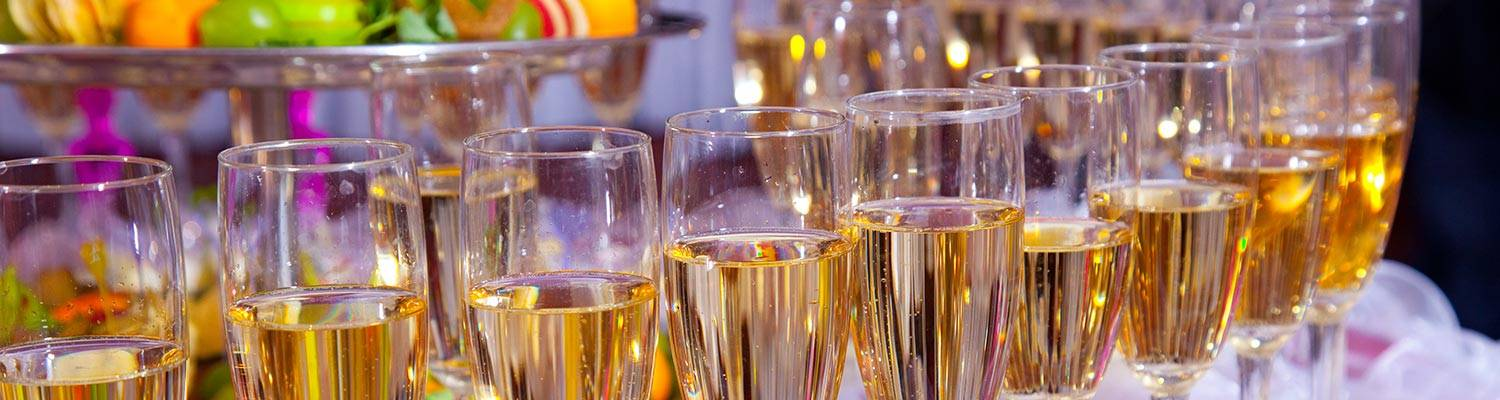 Champagne Toast, Private Events at Wheeling Island