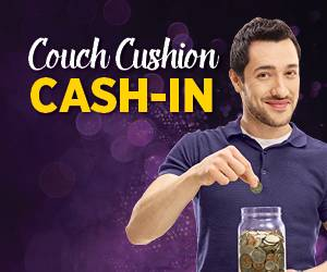 Couch Cushion Cash-in
