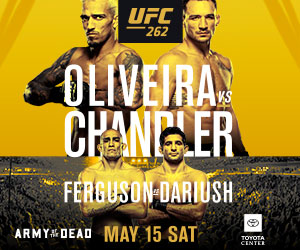 Watch UFC 262 at Wheeling Island on May 15, 2021
